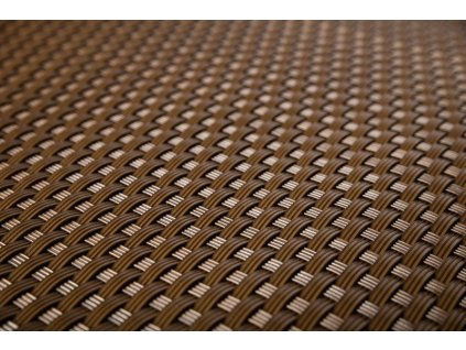 Stínící rohož na plot 2 x 20 m čokoládová hnědá RattanArt