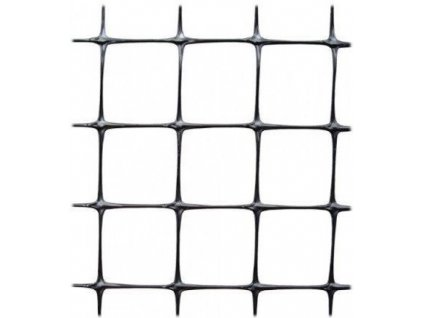 Geomříž na zpevnění svahů 1x100m oko 14x16mm (26g/m2) UV stabil