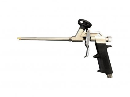 Kovová pistole na PU pěny vcelokovovém provedení s vysokou životností.