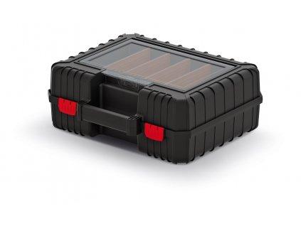 kufr na naradi heavy cerny 384x335x144 prepazky (1)