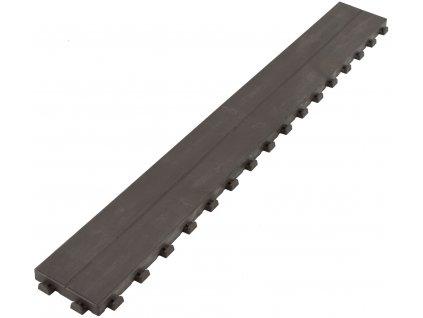 Linea WOODENLIKE hnědá 1178x157x25 mm ArtPlast