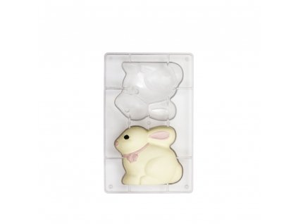 Forma polykarbonátová na čokoládové velikonoční zajíčky