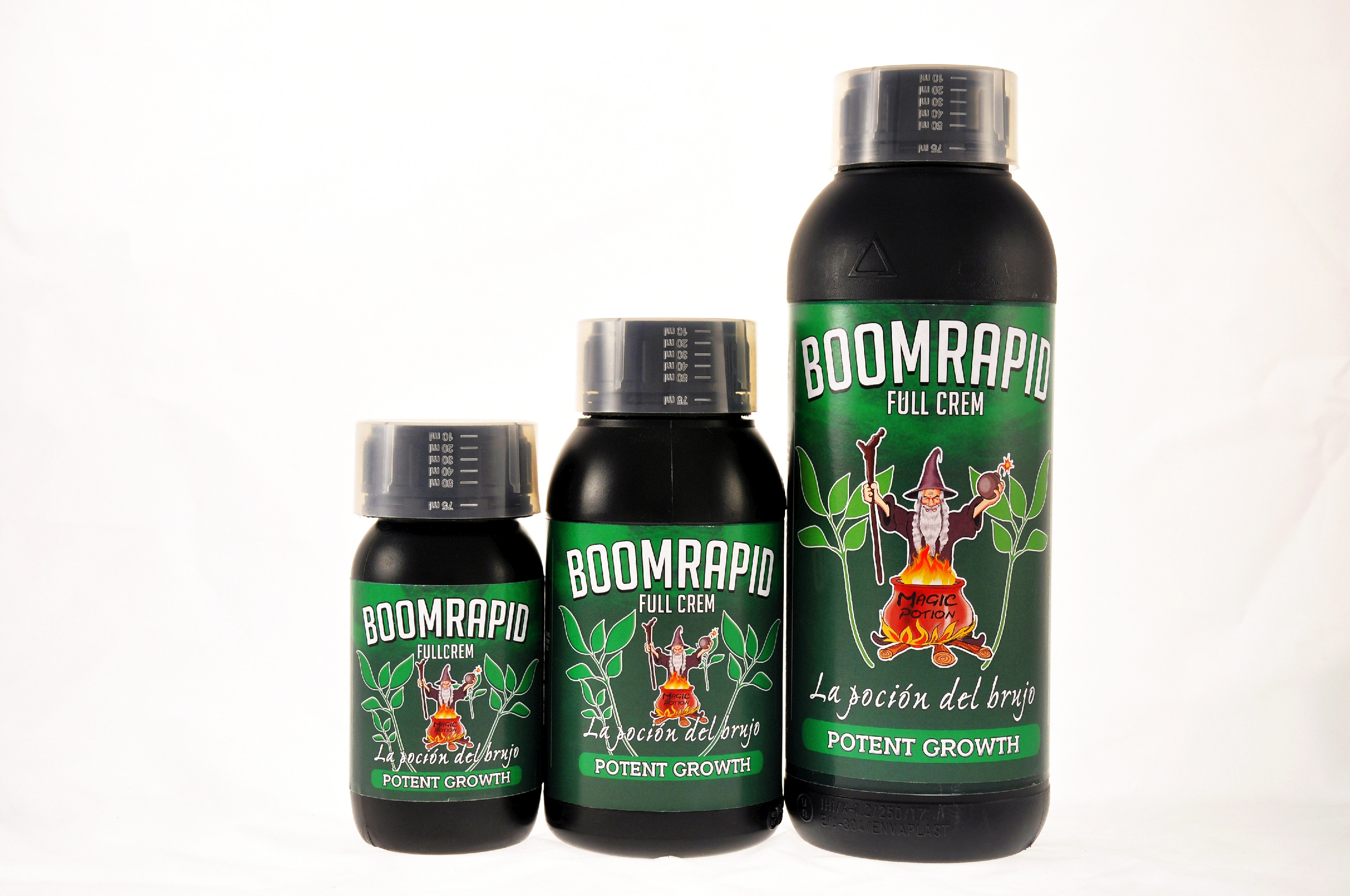 CANNABOOM - Boomrapid Fullcrem 600ml
