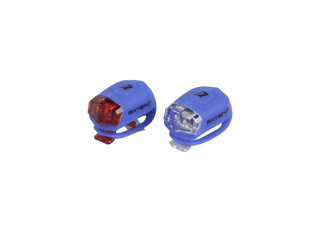 Sada bezpečnostního osvětlení Extend FROGGIES  - blue