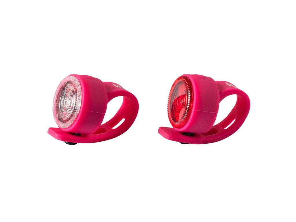 Sada bezpečnostného osvetlenia Extend FLOPPY, ružová