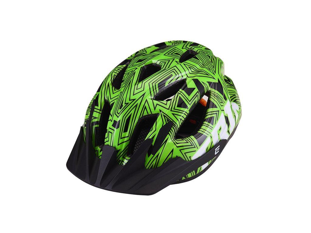 Prilba Extend TRIX labirint green S/M (52-56 cm), shine