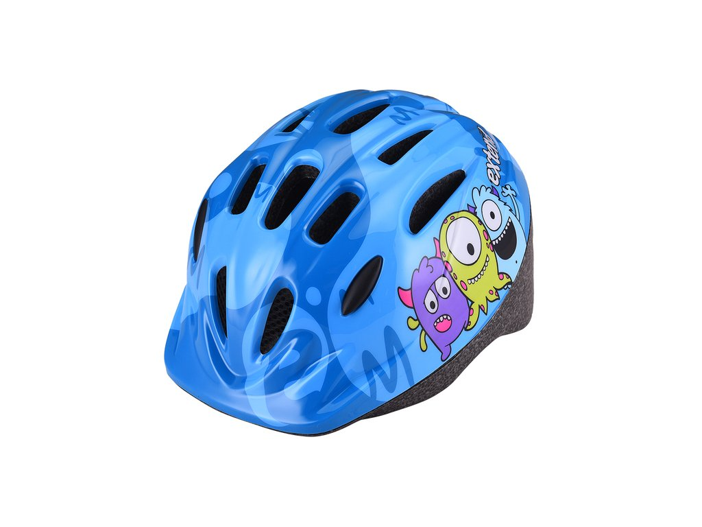 Prilba Extend BILLY Monster neonová modrá S/M (51-54cm)