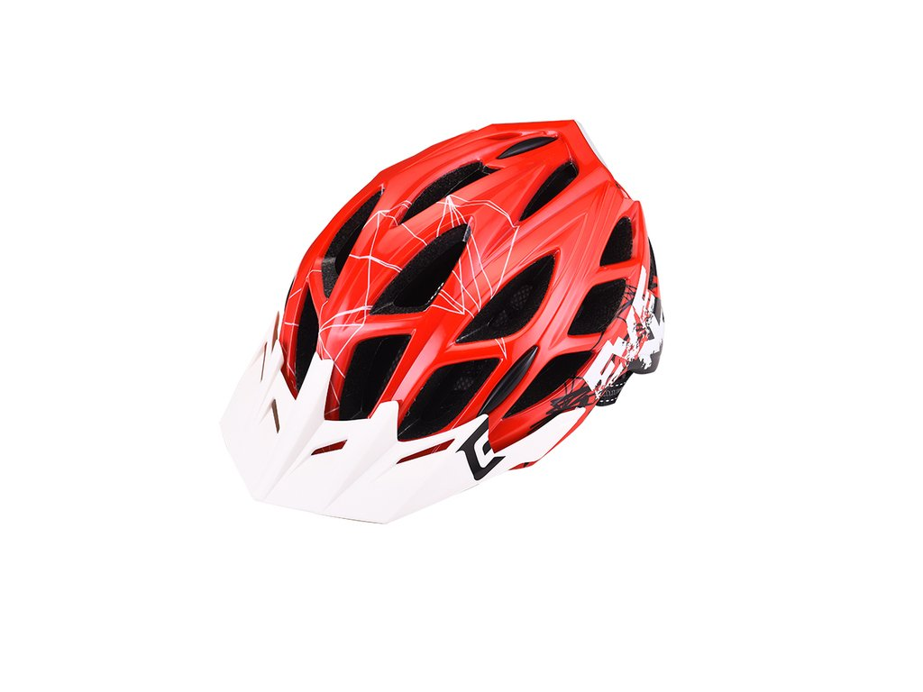Prilba Extend EVENT red-white, M/L (58-61cm) shine