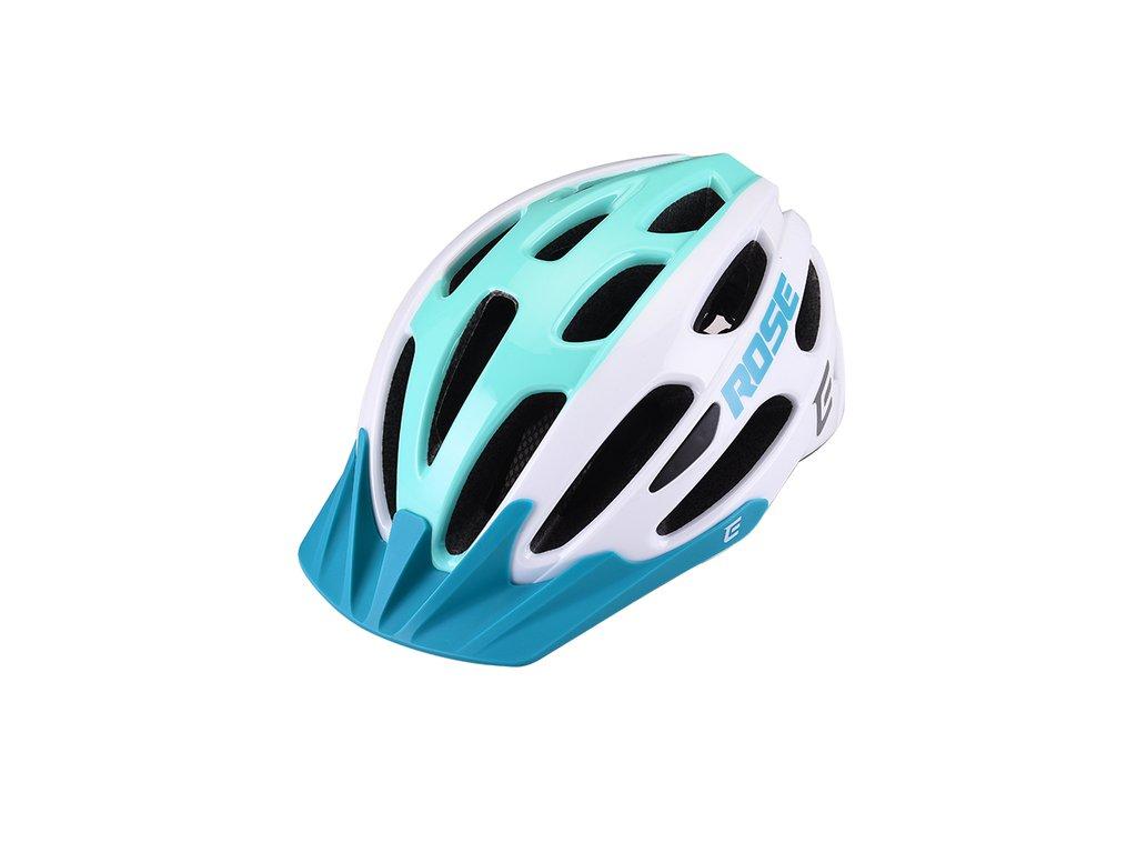 Cyklistická prilba Extend ROSE white-green, XS/S (52-55 cm) shine