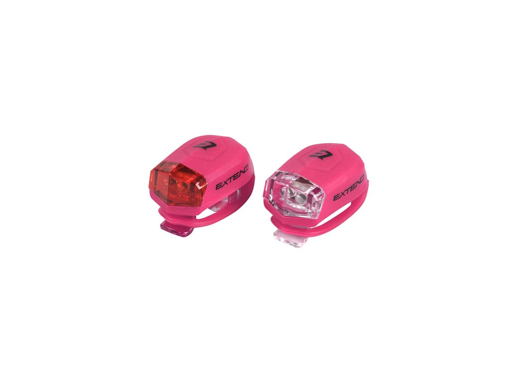 Sada bezpečnostního osvětlení Extend FROGGIES - pink