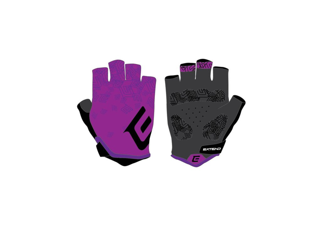 Rukavice dámske Extend SPIREA purple-black M