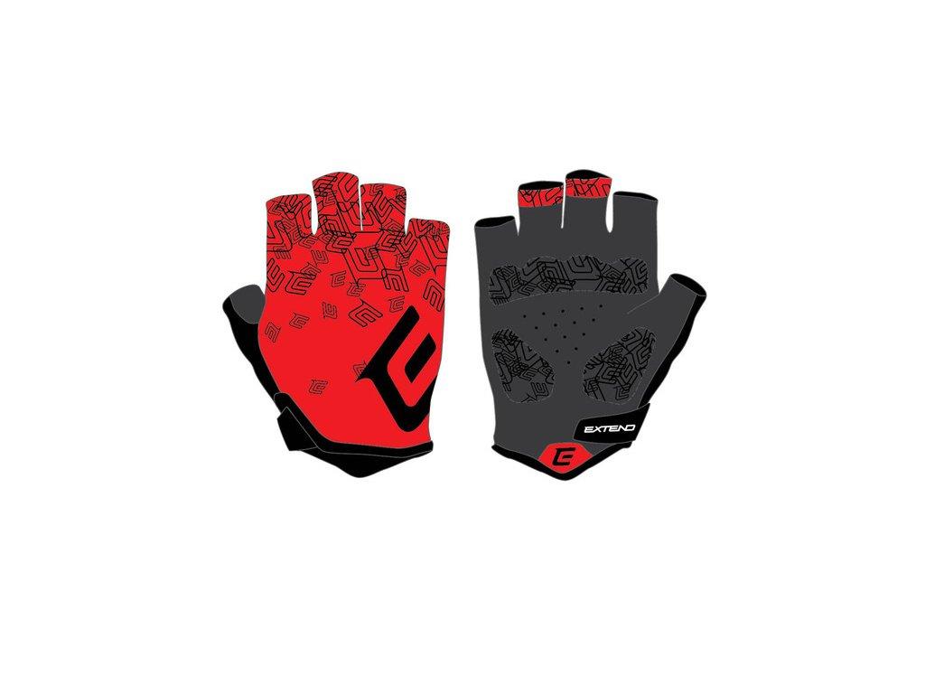 Rukavice dámske Extend SPIREA red-black XXS