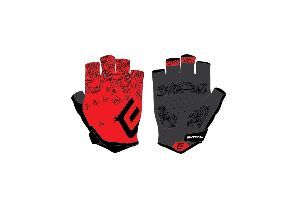 Rukavice dámske Extend SPIREA red-black XS