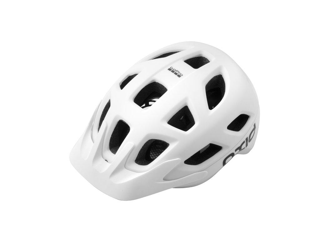 Cyklistická prilba Extend OXID, S/M (55-58 cm), white, matt/shine, MTB
