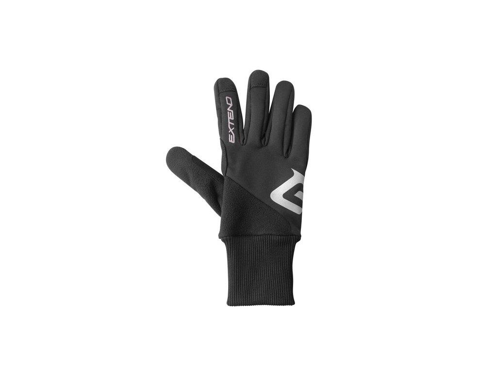 Rukavice zimné Extend SCULPIN, black XL