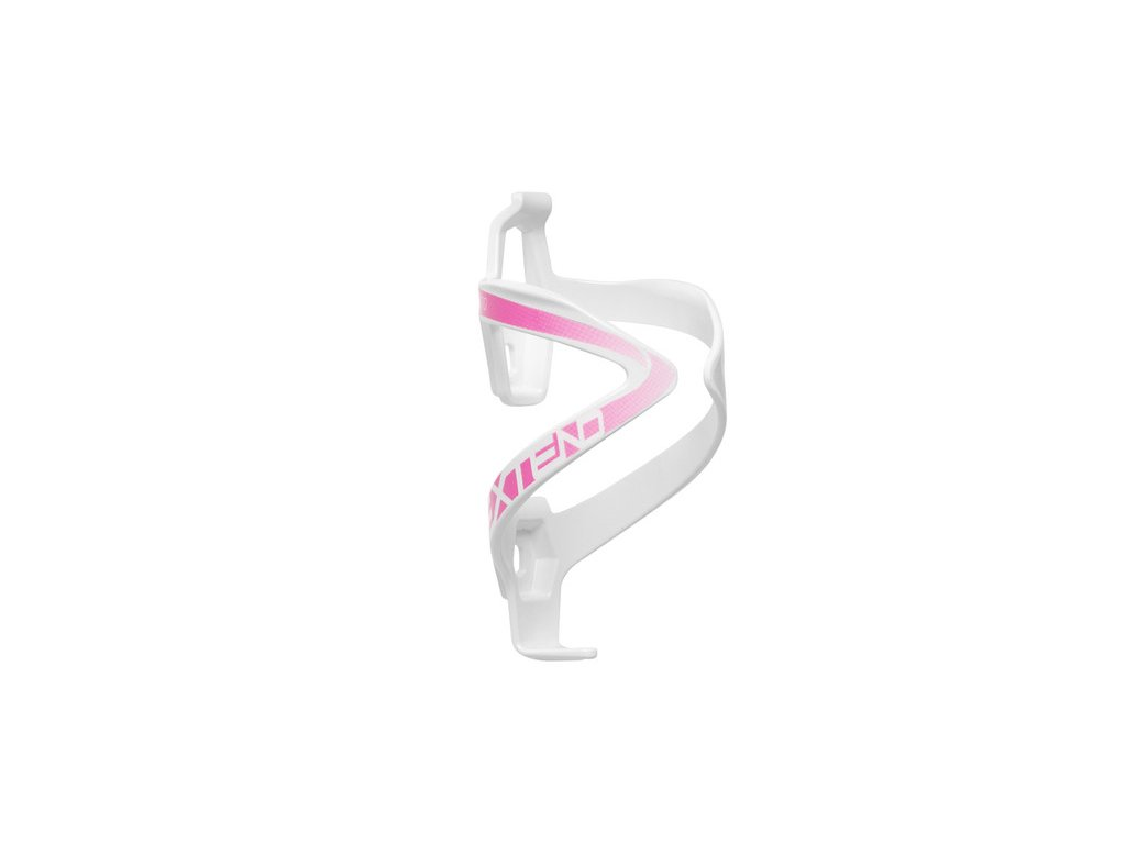 Košík na fľašu Extend ANYX 70, white-magenta