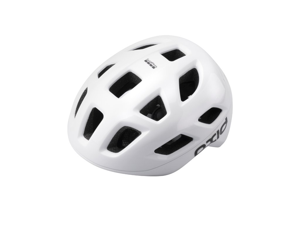 Prilba Extend OXID, white, M/L (58-61 cm) shine/matt, road