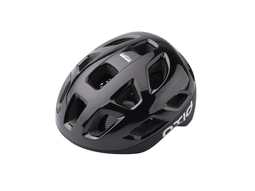 Prilba Extend OXID, black, M/L (58-61 cm) shine/matt, road