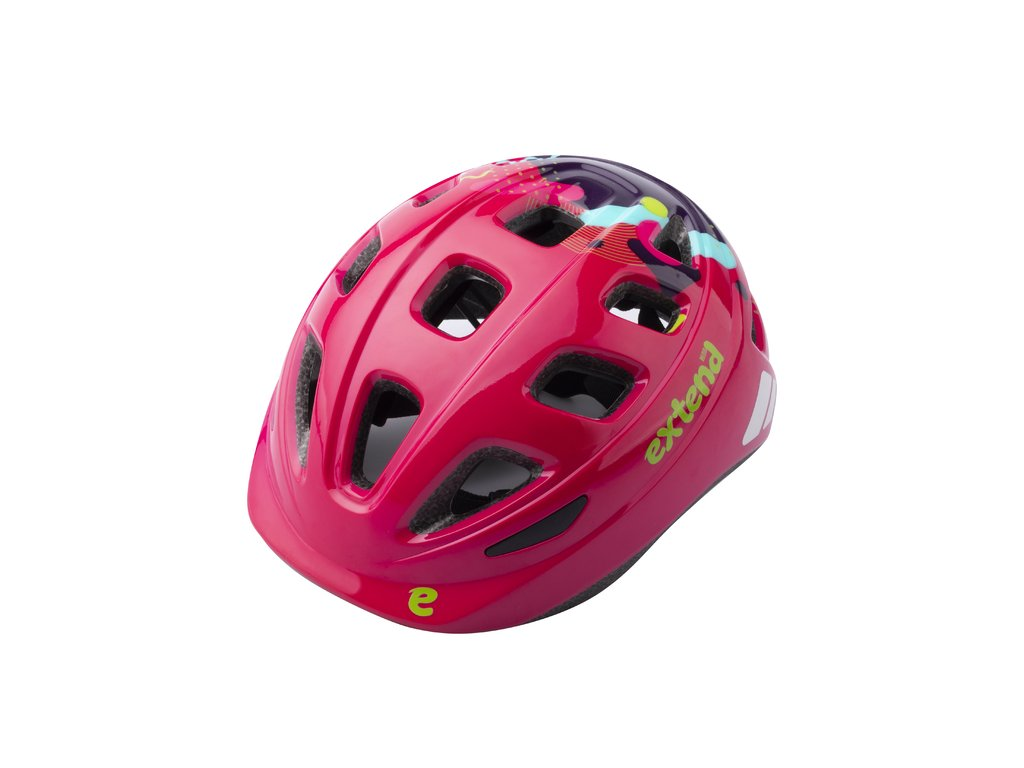 Prilba Extend COBBY, multi-pink, XS/S (48-52 cm), shine
