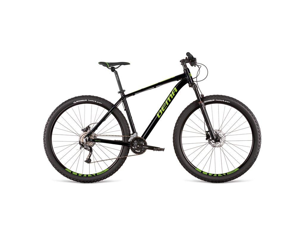"Bicykel Dema ENERGY 3 black-green 17"""