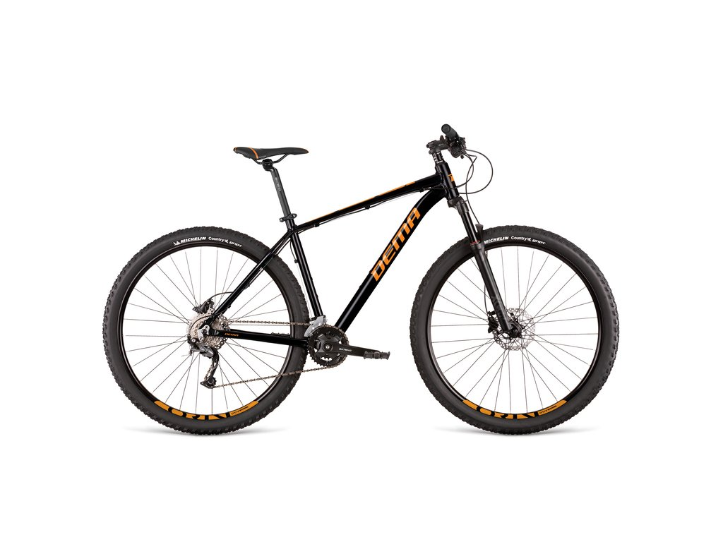 "Bicykel Dema ENERGY 3 black-orange 17"""