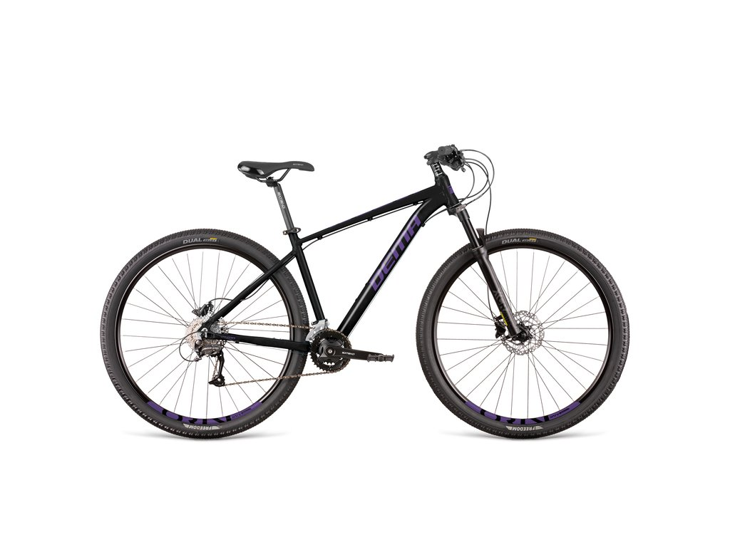 "Bicykel Dema RAVENA 7 black-ultra violet 18"""