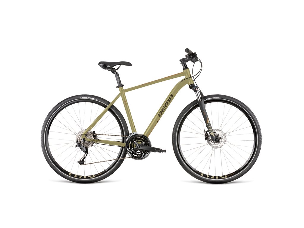 """Bicykel Dema AVEIRO 7 sand yellow-black 20"""""""