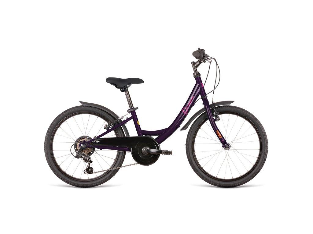 Bicykel Dema AGGY 6sp bordo