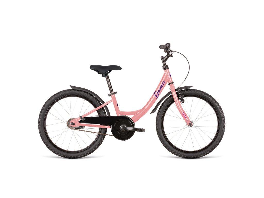 Bicykel Dema AGGY old pink