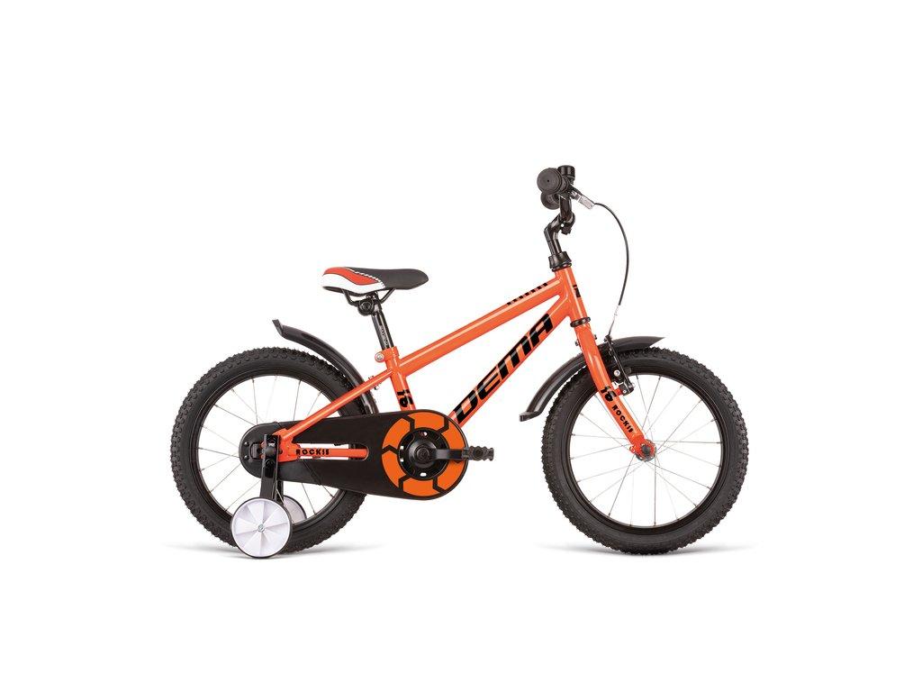 Bicykel Dema ROCKIE 16 orange