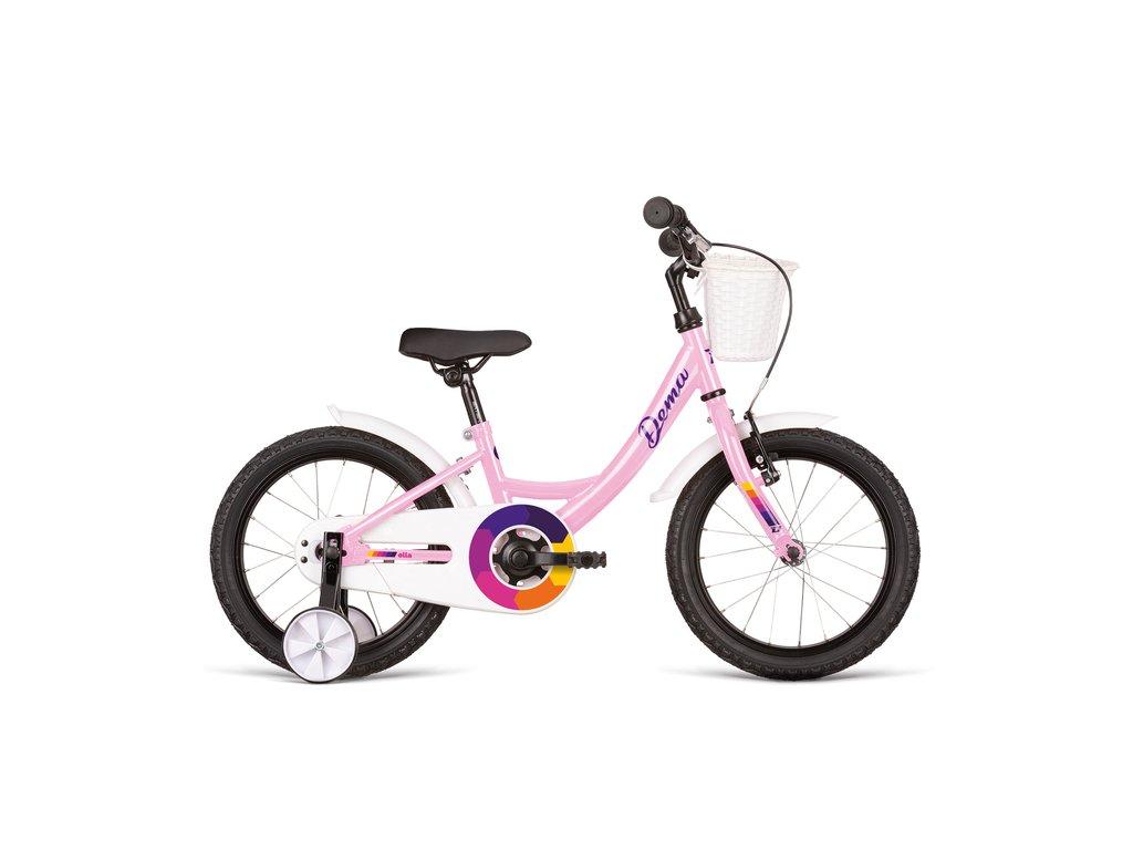 Bicykel Dema ELLA 16 old pink