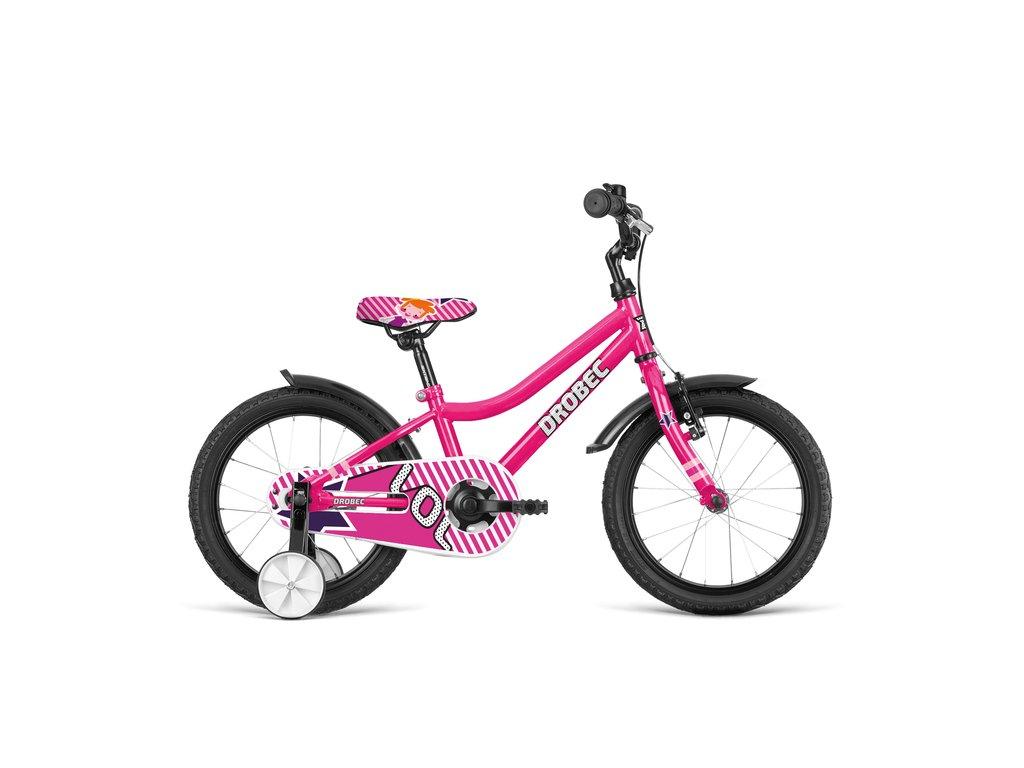 Bicykel Dema DROBEC 16 pink