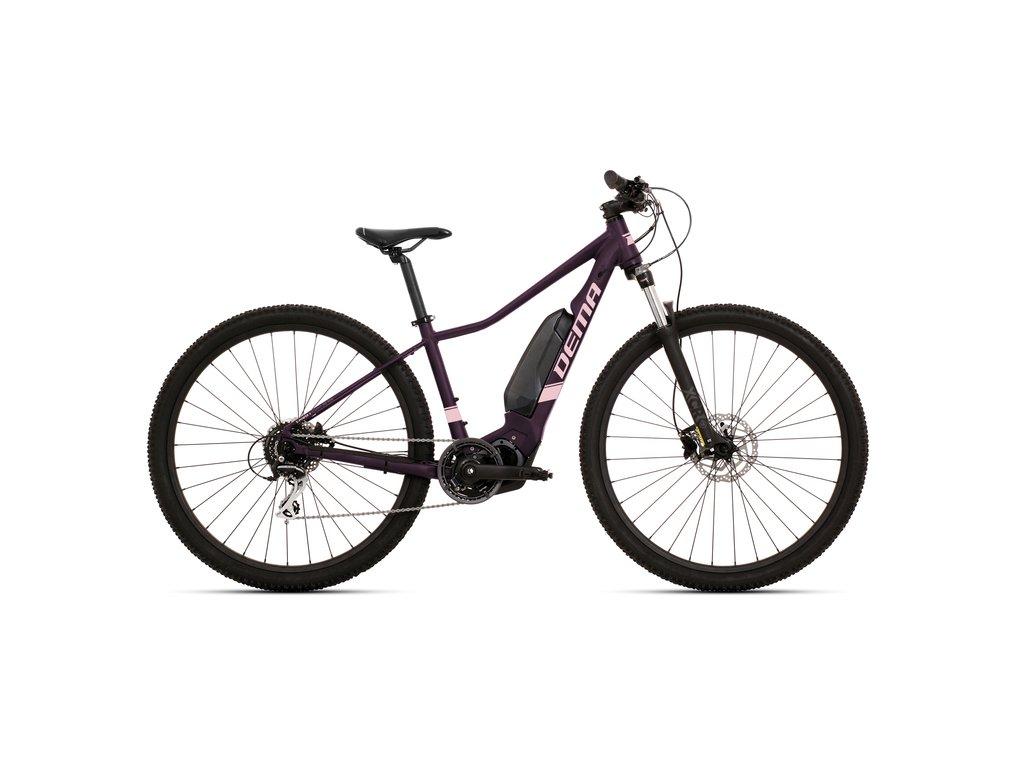 "Bicykel Dema OMEGA 29"" bordo-pink S / 17"""