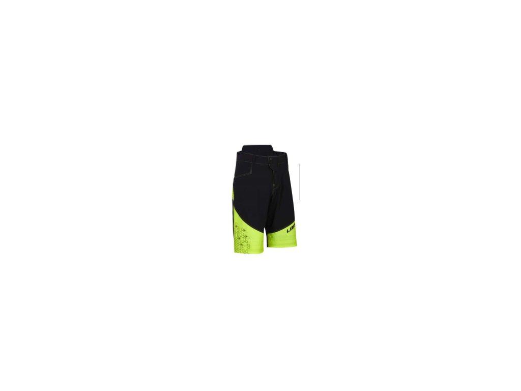 Nohavice krátke Trail - Yellow / Black