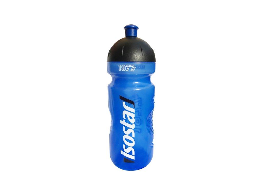 Cyklistická fľaša ISOSTAR modrá 650ml