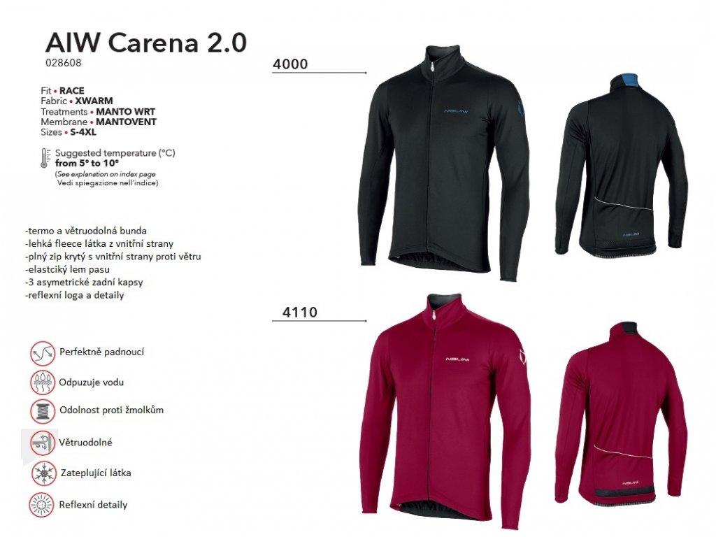 Bunda AIW Carena 2.0 - Black