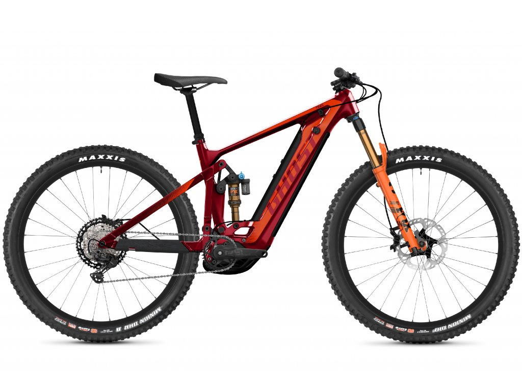 E-Riot Trail CF Pro B625 - Dark Red / Orange