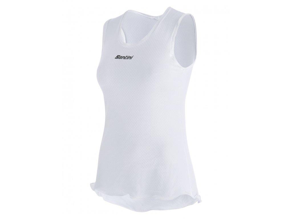 PIUMA ACTIVE baselayer top for lady / dámské tílko - BI - white
