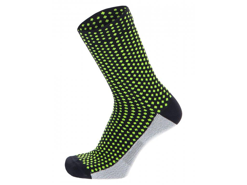 SFERA MEDIUM PROFILE CYCLING SOCKS / STŘEDNĚ VYSOKÉ PONOŽKY - VM - Military Green