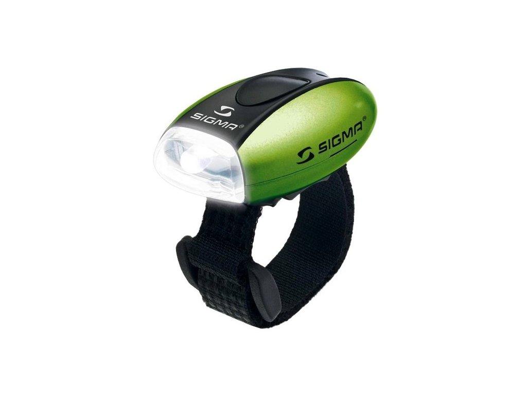 Svetlo predné Sigma MICRO W zelené