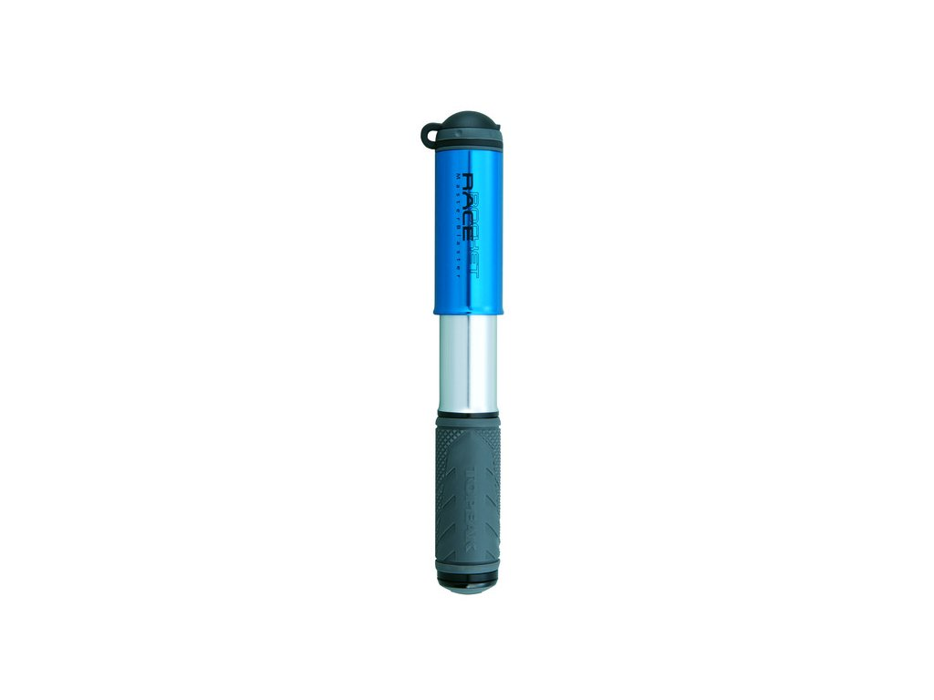 Mini-hustilka Topeak RACE ROCKET anod.modrá