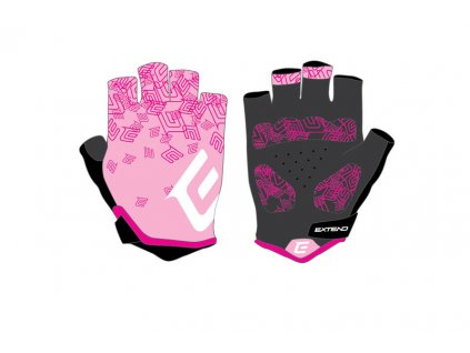 Rukavice dámske Extend SPIREA pink-white S