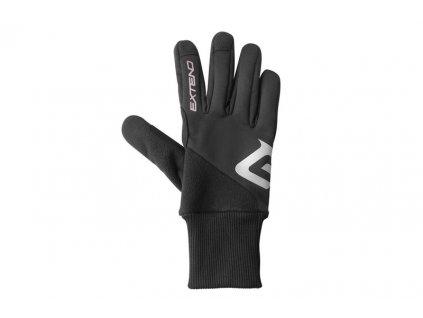 Rukavice zimné Extend SCULPIN, black XS