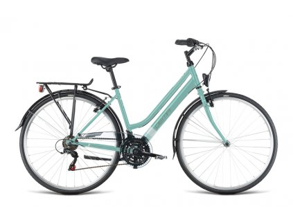 "Bicykel Dema LUGO LADY light green-white 18"""