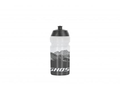 Fľaška 0,5l - clear/black