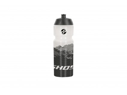 Fľaška 0,75l - clear/black