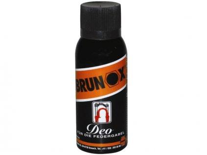 Olej Brunox Deo, sprej 100ml - údržba a ochrana odpružených vidlíc a tlmičov