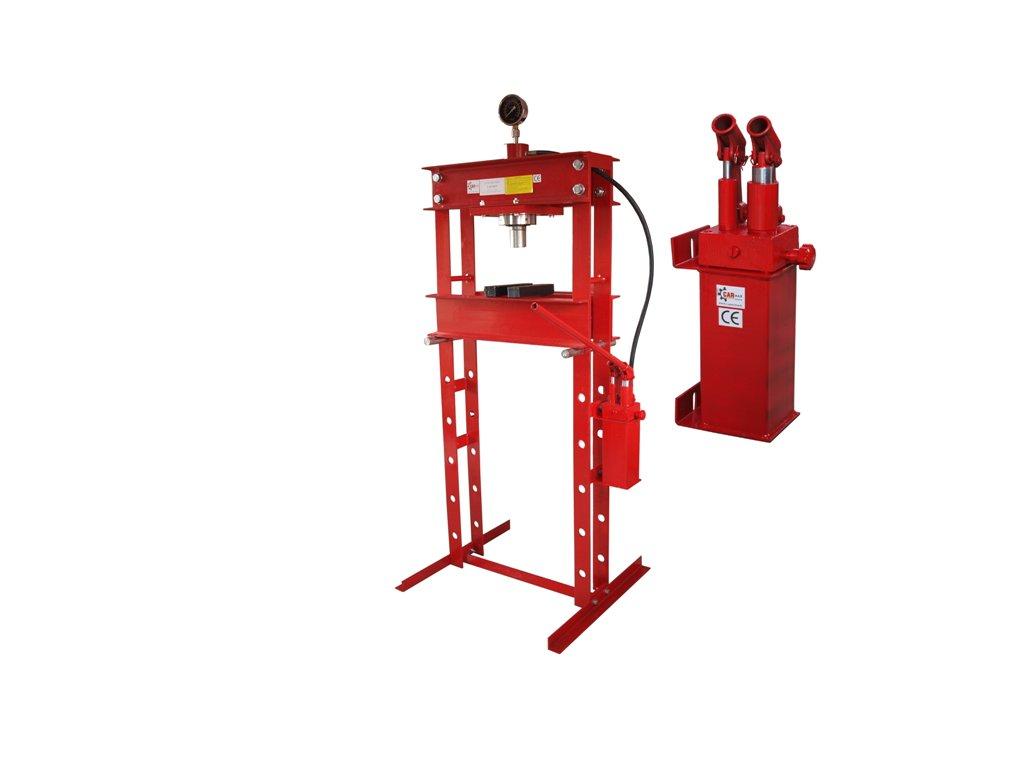 Hydraulický lis 30T - dvourychlostní pumpa