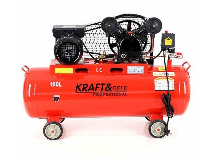 Kompresor 100L - olejový Kraft&Dele KD402