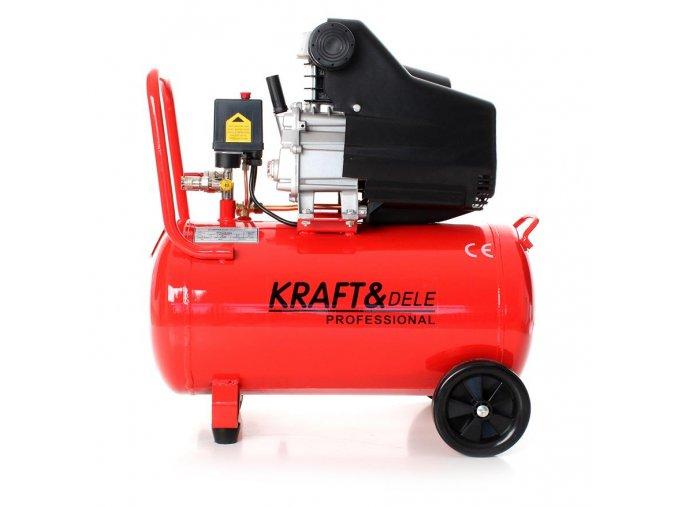 Kompresor 50L - olejový Kraft&dele